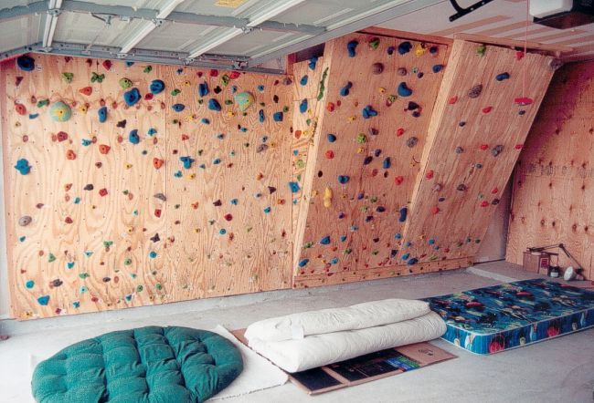 Old Climbing Wall Photos